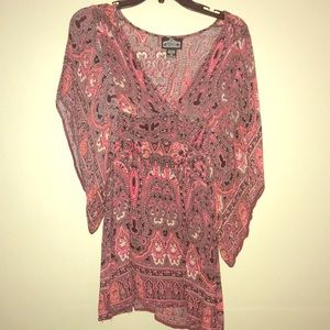 Blouse/coverup